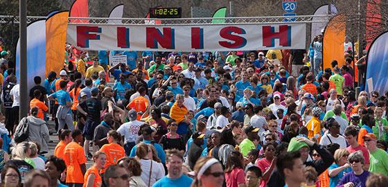 Hunger Walk/Run 2013 Finish Line