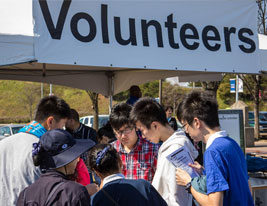 Volunteers Hunger Walk Run