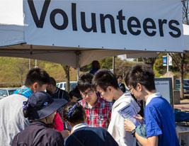 Volunteers Hunger Walk Run